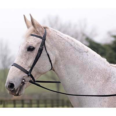 Cottage Craft Lincoln Bridle With Plain Reins