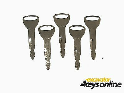 5 Newer Toyato Fork Lift equipment ignition key