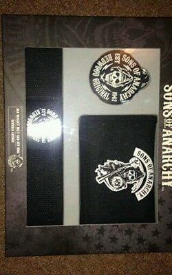 Sons of Anarchy Gift Set contains Wallet Belt and Key Ring great stocking filler