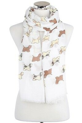Cocker Spaniel Dog Scarf Shawl Wrap Great Gift for Dog Lover FREE P&P