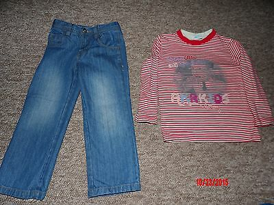 Boys jeans and top size 3-4  years NEW!!!