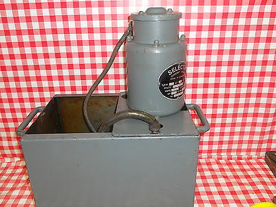 Genuine Myford lathe Suds / coolant tank with pump Direct from myford-stuff J