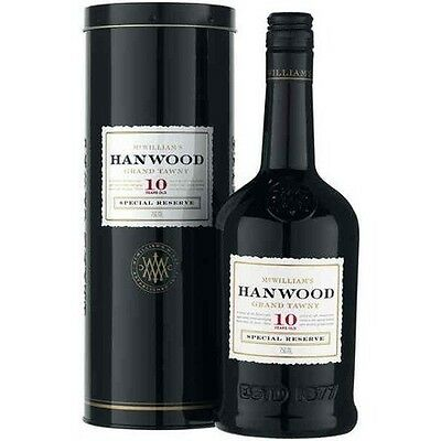 McWilliam's Hanwood Ten Year Old Grand Tawny NV (6 x 750mL)