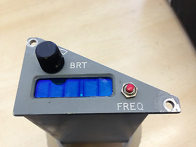 RAF Aircraft Tornado Plessey Remote Frequency Channel Indicator