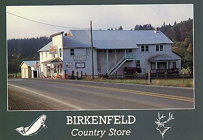 Birkenfeld,OR, Country Store & Post Office, with Canada Dry & Other Signs,Unused