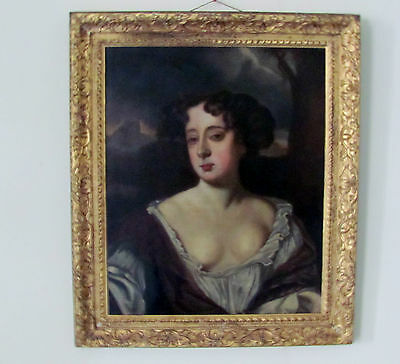 portrait of Queen Mary II  Follower of William Wissing