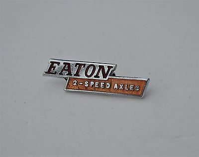 Vintage Eaton Axels 2 speed  lorry,  truck Commercial Vehicle enamel pin badge
