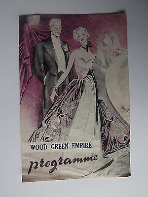 1950 Wood Green Empire programme '' Harlem comes to town '' December 18th