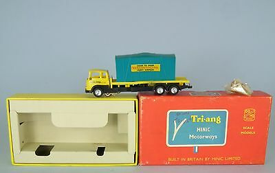 Triang Minic Motorways M1547 BEDFORD CONTAINER LORRY EXC RUNNER EXCELLENT BOXED