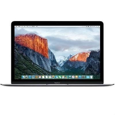Apple MacBook 12 con 8 Gb y 256 GB SSD - Retina - Gris espacial - Silver