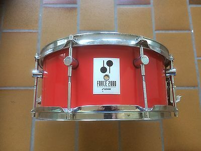 Sonor Force 2000 Snare Snaredrum 14x6,5 rot