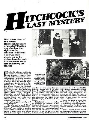 Alfred Hitchcock's Last Mystery Article & Picture(S)