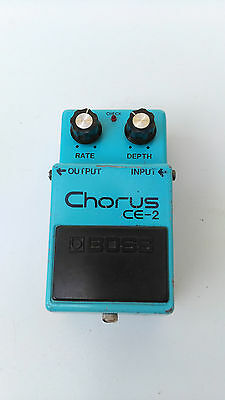 Boss Ce-2 Chorus Mij Japan Black Label Long Dash Silver Screw - Free Next Day