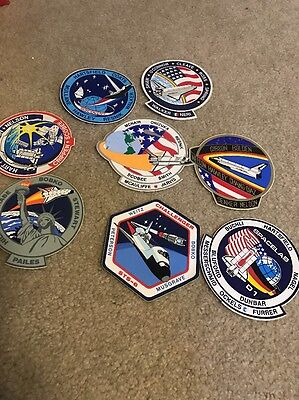 NASA Space shuttle Sticker Lot. Large Collectible History