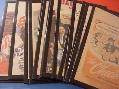1940's, ORIGINAL, 14x22, MOVIE, WINDOW CARDS, SEE INFO FOR YOUR CHOICE
