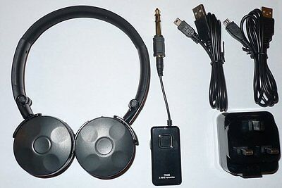 Metal Detecting - Wireless Headphones - 2.4Ghz - No Delay/lag  - Dual Usb Port