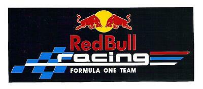 Red Bull Racing Formula One F1 Team Sticker, Vintage Sports Car Racing Decal