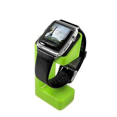 Tuff-Luv Moulded Charging Stand for Apple Watch Series 1 / 2 - Green