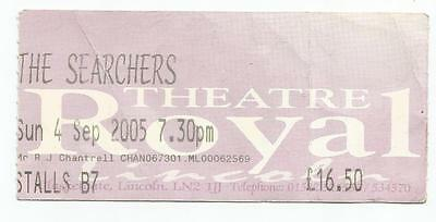 The Searchers Theatre Royal Lincoln 2005 Ticket Stub