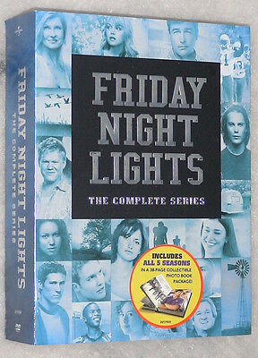 Friday Night Lights Complete Series Collection Seasons 1,2,3,4,5 DVD Box Set