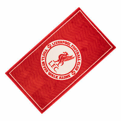Liverpool FC  Liverbird You'll Never Walk Alone YNWA Kids Bedroom Rug Official