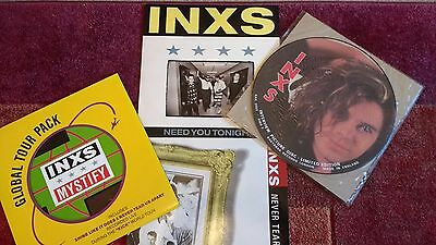 """INXS Job Lot, Picture Disc & 12""""s Hutchence"""