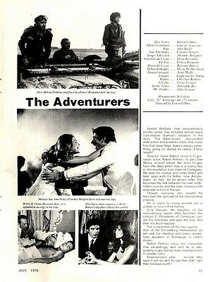 Movie Review & Picture(S) : Bekim Fehmiu & Charles Aznavour In The Adventures