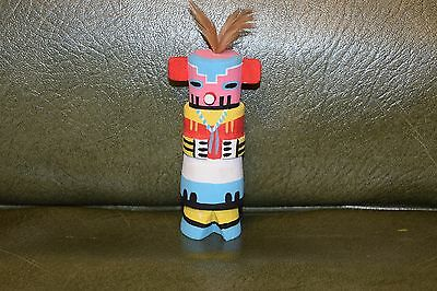 Grace Pooley Route 66 Kachina Carving Hopi Corn/free Shipping