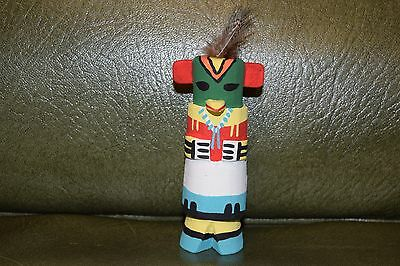 Grace Pooley Route 66 Kachina Carving Hopi Parrot/free Shipping