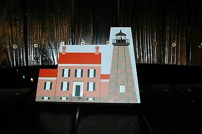 The Cats Meow Charlotte Genesee Lighthouse, Rochester Ny, Signed 1991