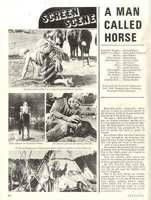 Richard Harris & Dame Judith Anderson In A Man Called Horse Article & Picture(s)