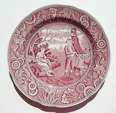 """Spode Archive Collection WOODMAN dinner plate 10-1/2"""""""