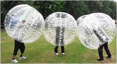 13 x BUBBLE FOOTBALL SUITS + pump Zorb Football and Bubble soccer. UK supplier