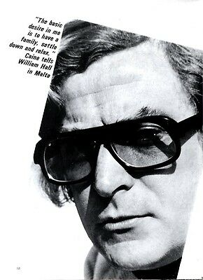 There Are Devils Inside Me Says Michael Caine Article & Picture(S)
