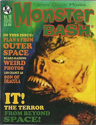 Monster Bash Magazine #18 Ex Condition As New
