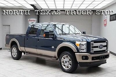 2014 Ford F-250  2014 Ford F250 Diesel 4x4 King Ranch FX4 Navigation Sunroof 1 TEXAS OWNER