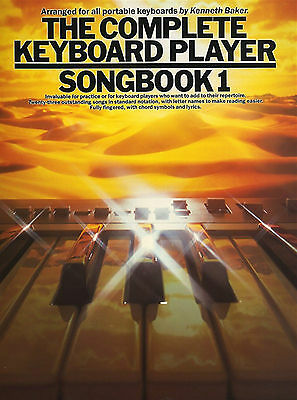 The Complete Keyboard Player Songbook 1 Music Book Beginners Pop Chart Rock Easy