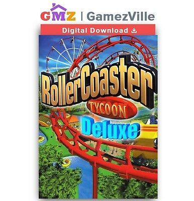 RollerCoaster Tycoon Deluxe Steam CD Key PC Download Code [EU/US/MULTI]