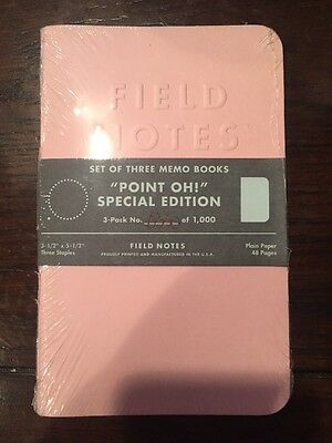 Field Notes Point oh! Special Edition 330/1000