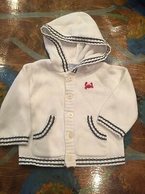 Janie And Jack Boy Sweater  3-6 Months Very Cute