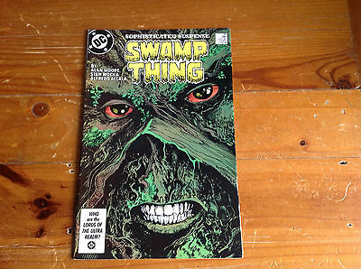 Swamp Thing No;49 Alan Moore. Featuring 1St Modern Day Justice League Dark!