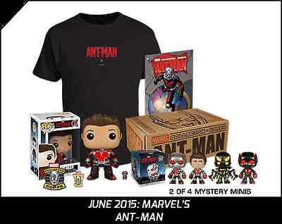 MARVEL Collector Corps Ant-Man Box Exclusive Funko POP