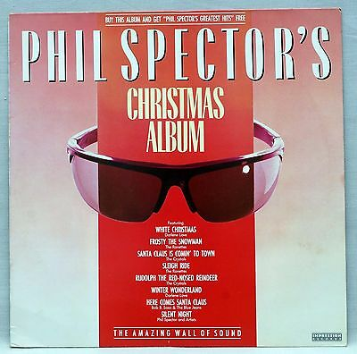 Phil Spector Christmas Album Vinyl LP ft Crystals Ronnettes etc Plays Superbly!