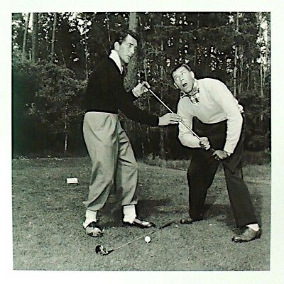 Dean Martin Jerry Lewis 1952 Pro-Am Golf Photo Print Pebble Beach Heritage Coll