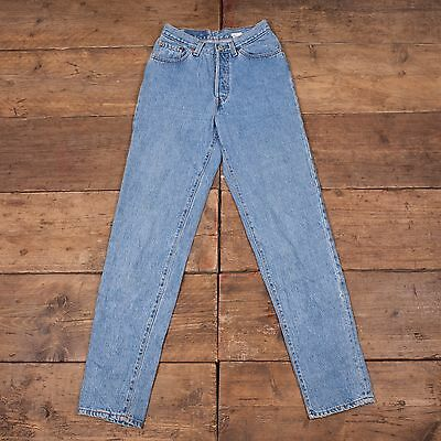 Womens USA MADE! 80's Vintage 501 Levis Mom Tapered Jeans Size 26 x 34 R4263