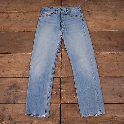 Mens USA MADE! 90's Levis Vintage 501 Red Tab Jeans Size 31 x 32 R4264