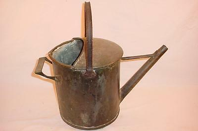Antique Primitive 19Th Century Copper Garden Hand Watering Can