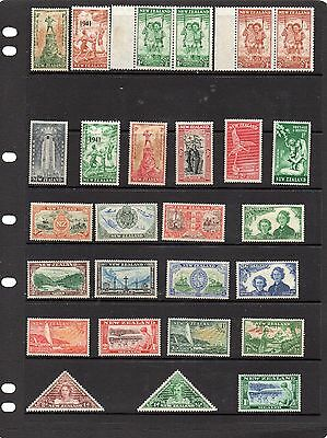 Collection of mint stamps of New Zealand