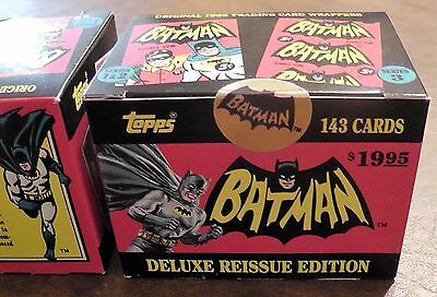 1989 Topps Batman Reissue Set 1966 MISB Factory Sealed MINT 143 Card Set DC