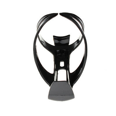 Black Bike Bicycle Drink Water Bottle Cup Holder Mount Cage Polycarbonate LUX